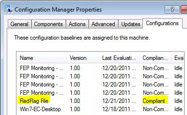 Authoring a DCM Configuration Item to Identify and Fix Non
