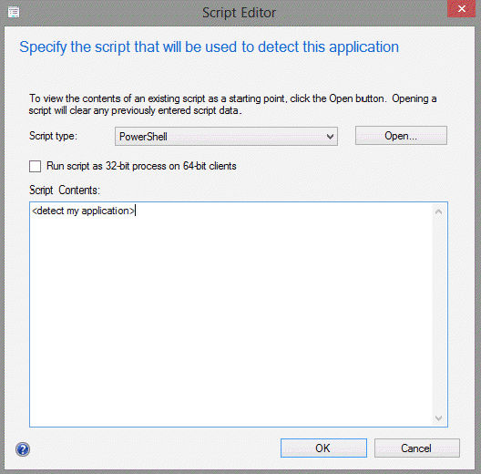 SCCM 2012: Application Deployment Detection Methods | Microsoft