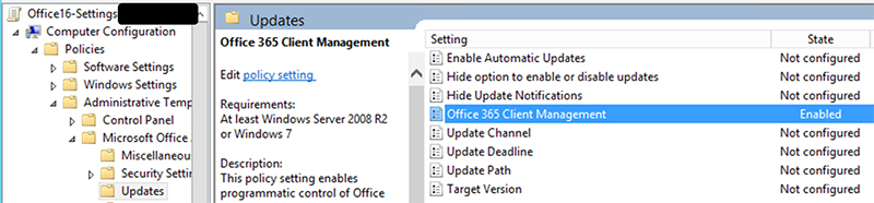 ConfigMgr 1602: Manage Office 365 Updates | Microsoft Cloud