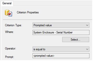 ConfigMgr Console Queries: Serial Number | Microsoft Cloud
