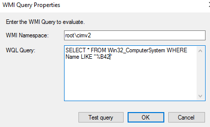 Task Sequence Condition: Computer Name | Microsoft Cloud