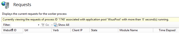 ConfigMgr Software Update Point: Out-of-Control App Pool
