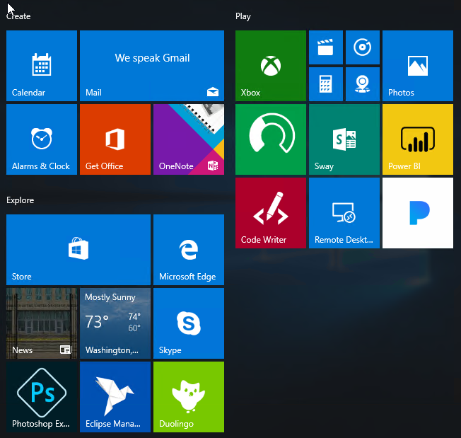 Disabling Windows 10 Consumer Experience | Microsoft Cloud Solutions
