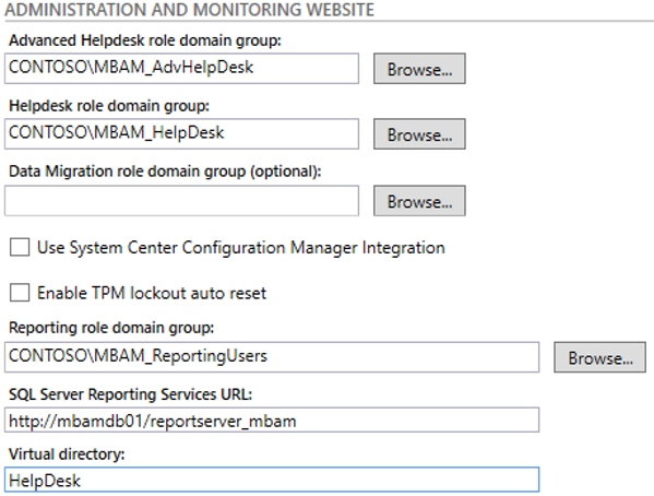Installing and Configuring MBAM: Part 2 | Microsoft Cloud