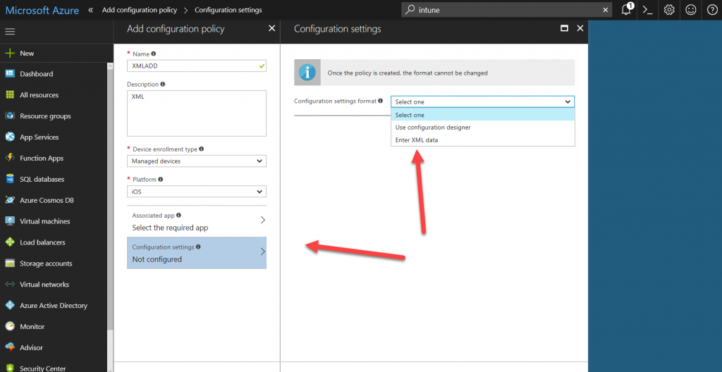 Implementing App Configuration Policies in Intune